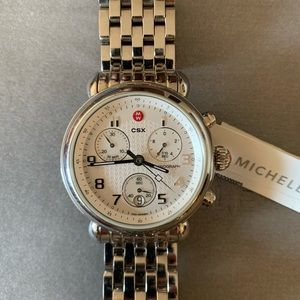🌺Michele stainless steel watch.